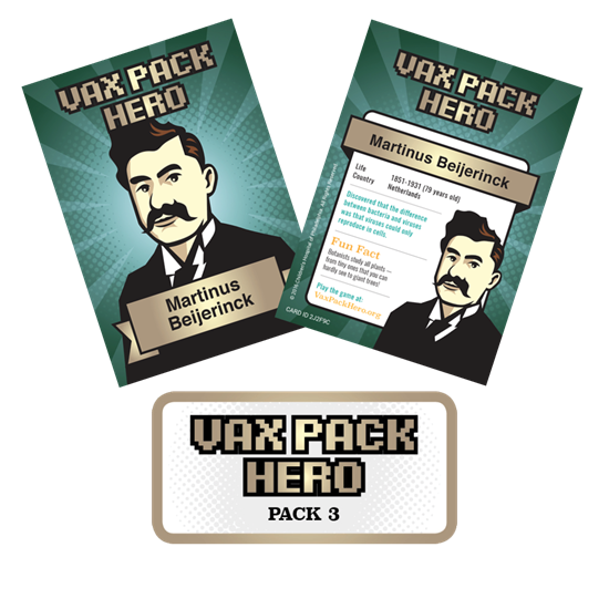 Picture of Vax Pack Hero Cards - Set 3